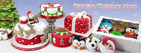 Xmas Decorating Ideas Home by Christmas Icing And Handmade Cake Decorations