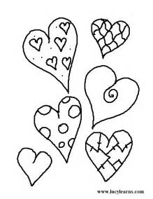 Coloring Pages Of Hearts » Home Design 2017