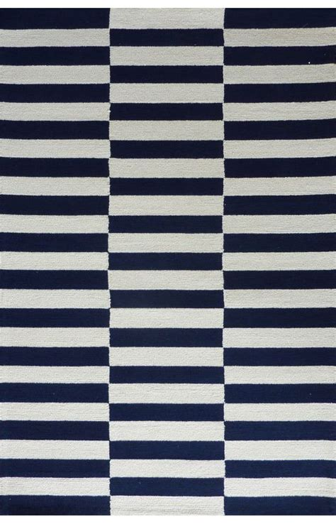navy blue striped rug homespunblocks rug rugs usa ottomans and rugs