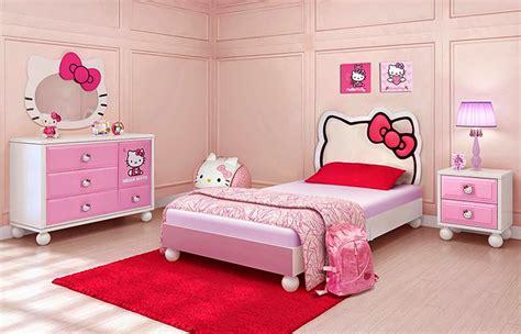 Kasur Hello Anak anak perempuan hello cantik kamar set tempat tidur