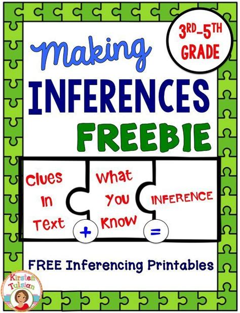 picture books for inferencing free inferences printables ready to use inferences