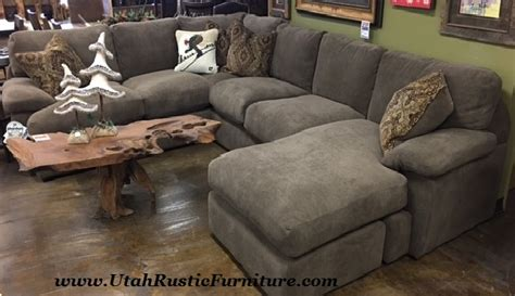 stanton 186 sectional bradley s furniture etc rustic sofas on our floor