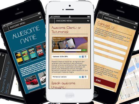 live mobile site awesome mobile site builder amsb pro by prescriptz