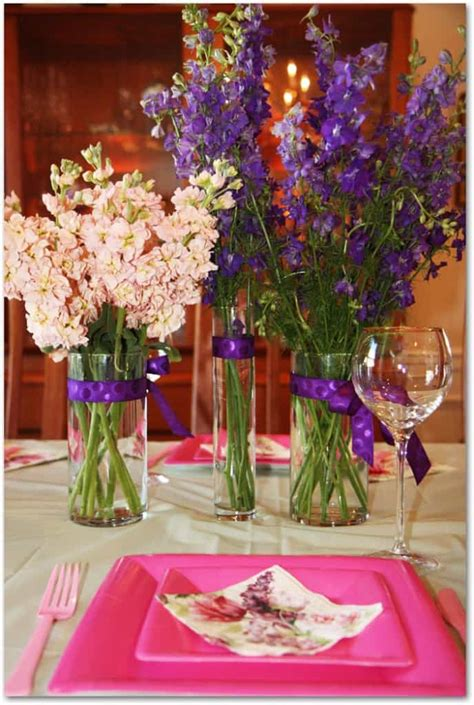 diy wedding shower centerpiece ideas how to make peony centerpieces for a diy wedding shower
