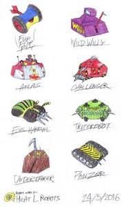robot wars 3 heat l robots by c studios on deviantart