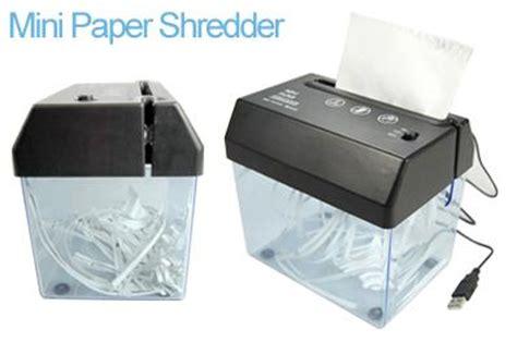 Mini Usb Paper Shredder With Letter Opener mini usb powered paper shredder letter opener combo
