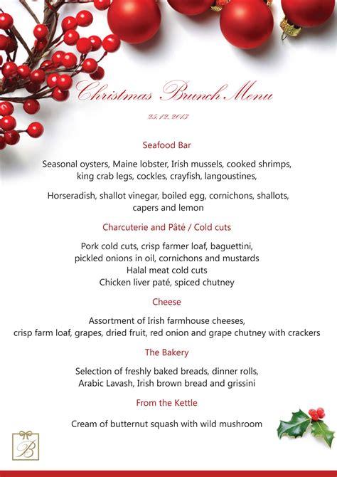 our 2013 festive season line up