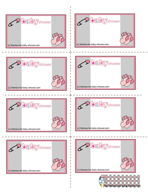 Printable Baby Shower Labels Free by Free Printable Baby Shower Labels