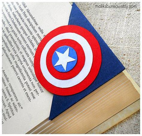 printable geek bookmarks captain america corner bookmark geek culture corner
