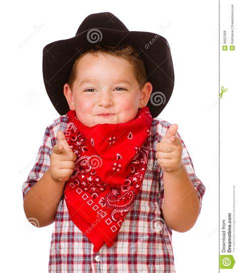 imagenes de niños vestidos de vaqueros ni 241 o vestido encima como de jugar del vaquero foto de
