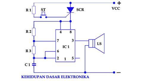 Alarm Keamanan Motor elektronika