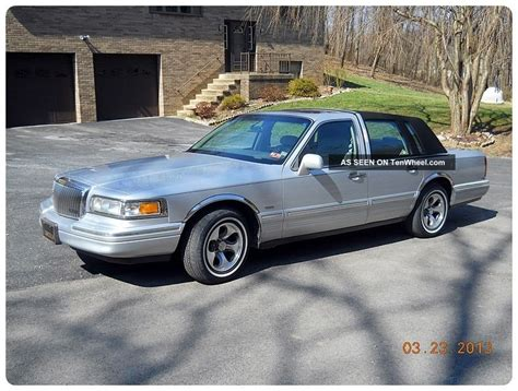 car repair manual download 1996 lincoln town car electronic toll collection service manual car maintenance manuals 1996 lincoln town car security system lincoln town