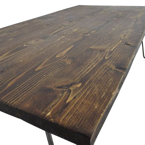 custom reclaimed wood coffee table 61 custom made rustic reclaimed wood coffee table