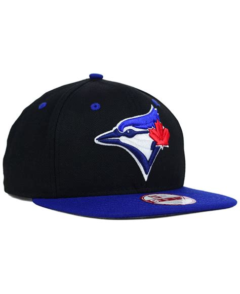 Topi New Era Original Mlb Toronto Blue Jays Fitted Size 714 new era toronto blue jays mlb team elite 9fifty snapback cap in black for black royalblue