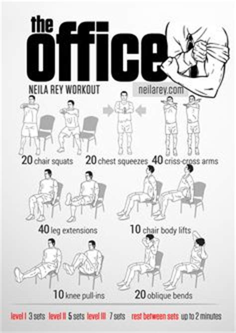 Office Desk Workout 1000 Ideas About Office Workouts On