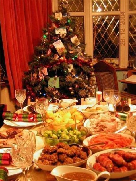 images of christmas feast christmas dinner nine months to make nine minutes to