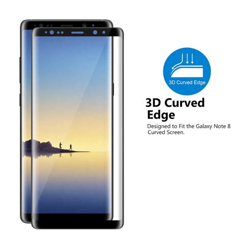 Tempered Glass Samsung Galaxy Note 8 Friendly New 4d Screen Protector friendly newest mobile phone accessories tempered glass screen protector for samsung