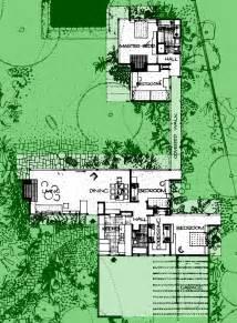 kaufmann desert house floor plan 20a bailey house richard neutra plan extant