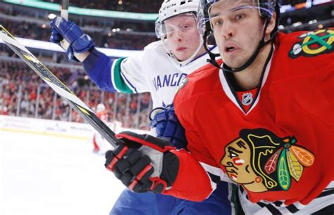 Background Check Chicago Canucks Lose Lead Defeat Blackhawks In Ot 5 4
