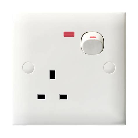 Multi 13a Neon china 13a 3 pin socket with switch and neon china switch