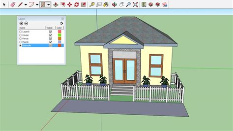 google sketchup house plans download home design sketchup aloin info aloin info