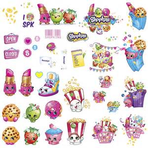 Poppy Wall Sticker shopkins small wall decals birthdayexpress com
