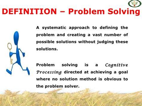 decision making amp problem solving