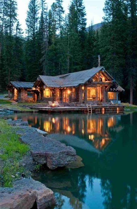Lake Country Cabins by A Rustic Cabin In Montana S Prestigious Yellowstone Club