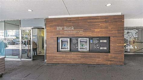 bw bank konto 196 rger um abbau bw bank automaten stuttgart bild de