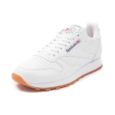 reebok athletic shoes mens reebok classic athletic shoe white 480819
