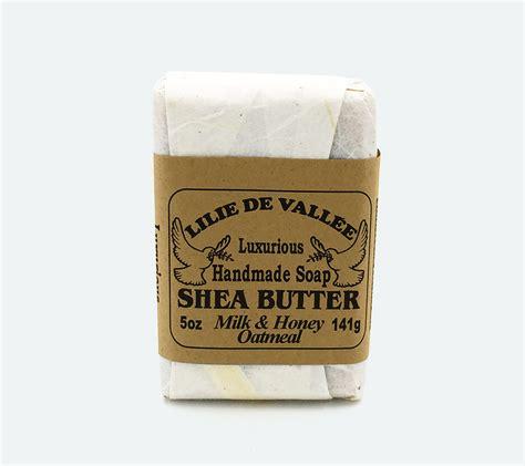 Handmade Shea Butter Soap - olive shea butter handmade soap lilie de vallee