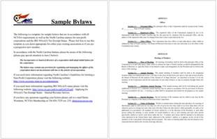 Bylaws Template by 4 Free Bylaws Templates To Help You Write Bylaws In Best
