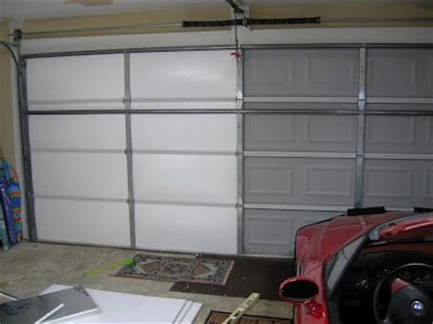 Living Stingy Insulating Your Garage Door For Cheap Cheapest Garage Door