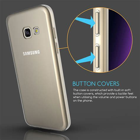 Casing Cover Samsung A5 2017 Ultra Thin Baby Skin ultra thin silicone tpu gel mobile phone cover for samsung galaxy a5 2017 ebay