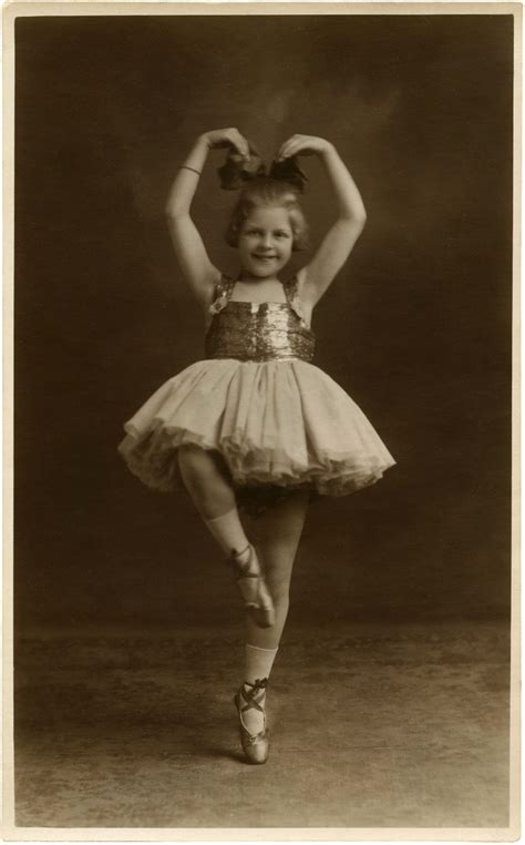 fotos retro vintage ballerina child photo adorable the graphics