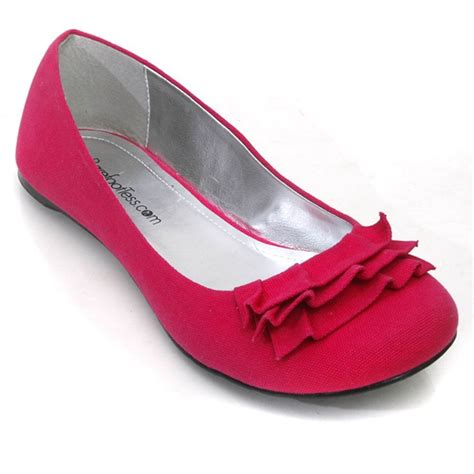 fuschia flat wedding shoes 11 best images about doll shoes on flat shoes