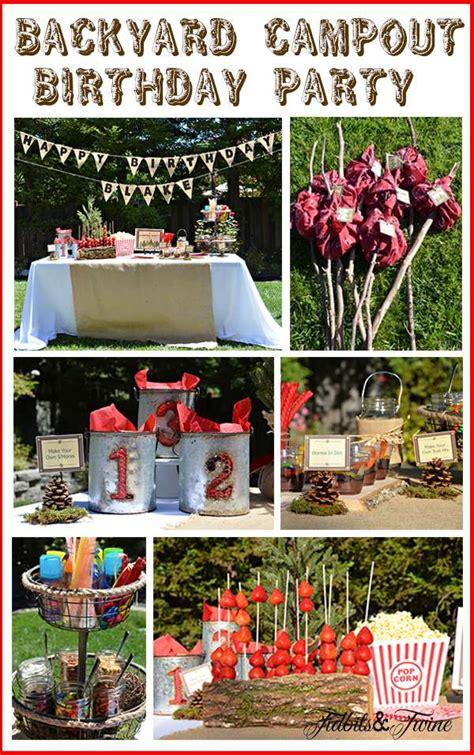 backyard birthday ideas backyard cout birthday ideas photo 8 of 9 catch my