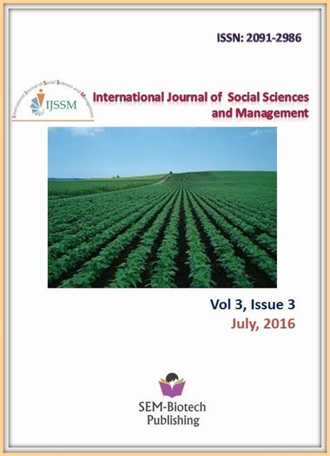 Management Science Letters Impact Factor by Home International Journal Of Social Sciences And