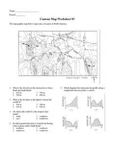 topographic map worksheet answers pichaglobal