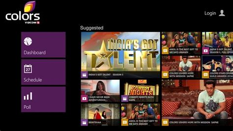 colors tv live windows 8 10 apps ibnlive colorstv and firstpost