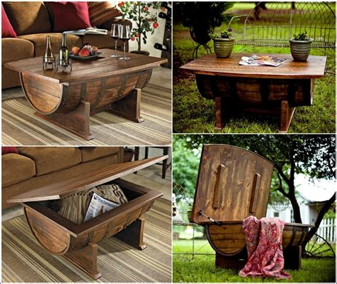 How To Make A Wine Barrel Coffee Table Recycle Wine Barrel Into Amazing Whiskey Coffee Table