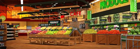 layout supermarket maxi foods supermarket design by i 5 design