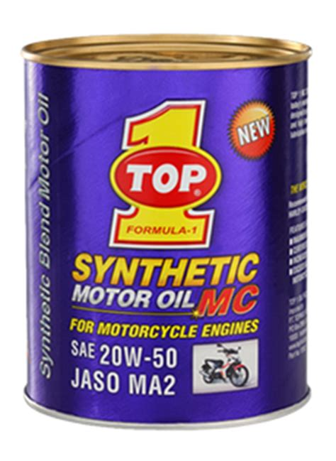Oli Top 1 Synthetic 1 L top 1 synthetic motor mc 20w 50 jaso ma2