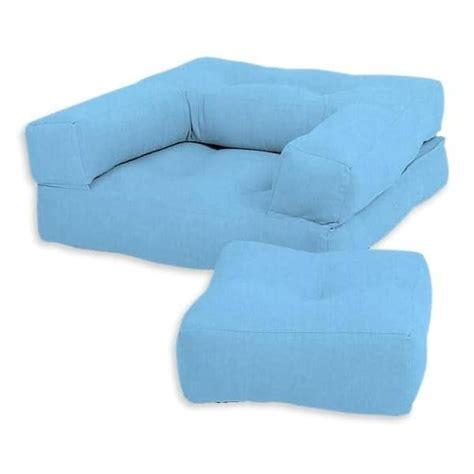 Futon Confortable by Cubic Un Fauteuil Futon Convertible En Pouf Ou
