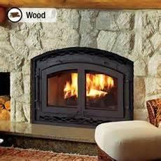wood burning fireplace insert house stuff