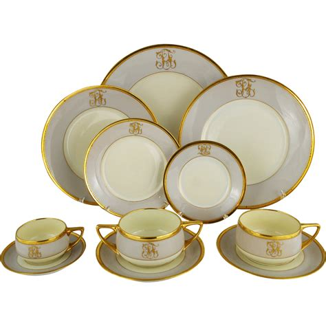 dinner set art deco dresden ambrosius lamm dinner set service for 8