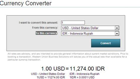 converter uang google cara cek kurs mata uang di western union
