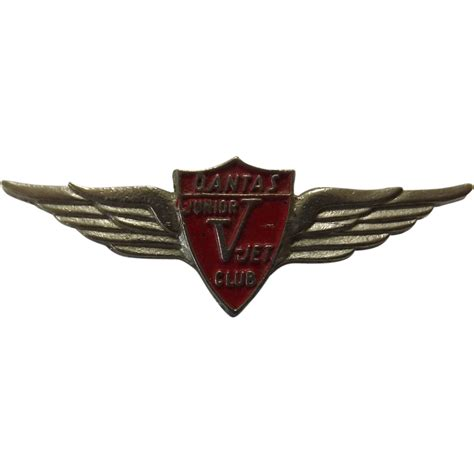 Furniture Store Kitchener by Qantas V Jet Club Wings Badge From Molotov On Ruby Lane