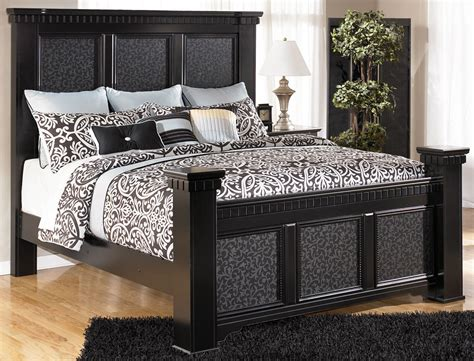 mansion bedroom furniture cavallino mansion king size bed by signature design