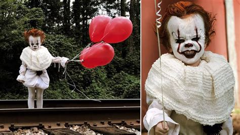 Its That Time Your Costume Didnt Work Out by 3 Year Dressed As Pennywise The Clown From It May